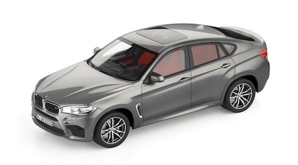 BMW X6 М мини модел